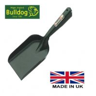 "Extra Strong Coal Hand Shovel Bulldog Household 6"" Fireplace Stove Ash All Metal"